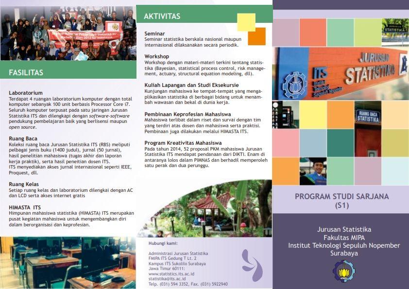 Poster Tugas Akhir Bernilai Departemen Statistika Its Poster Video