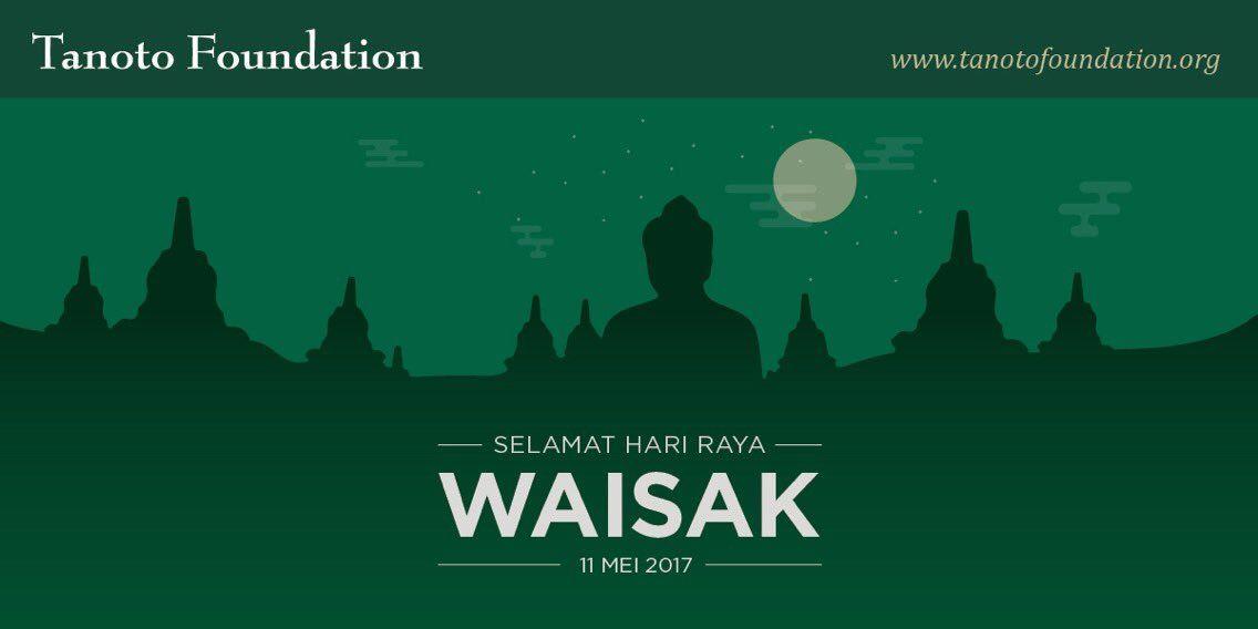 Poster Waisak Power Tanoto Foundation A Twitter Selamat Hari Raya Waisak Untuk T