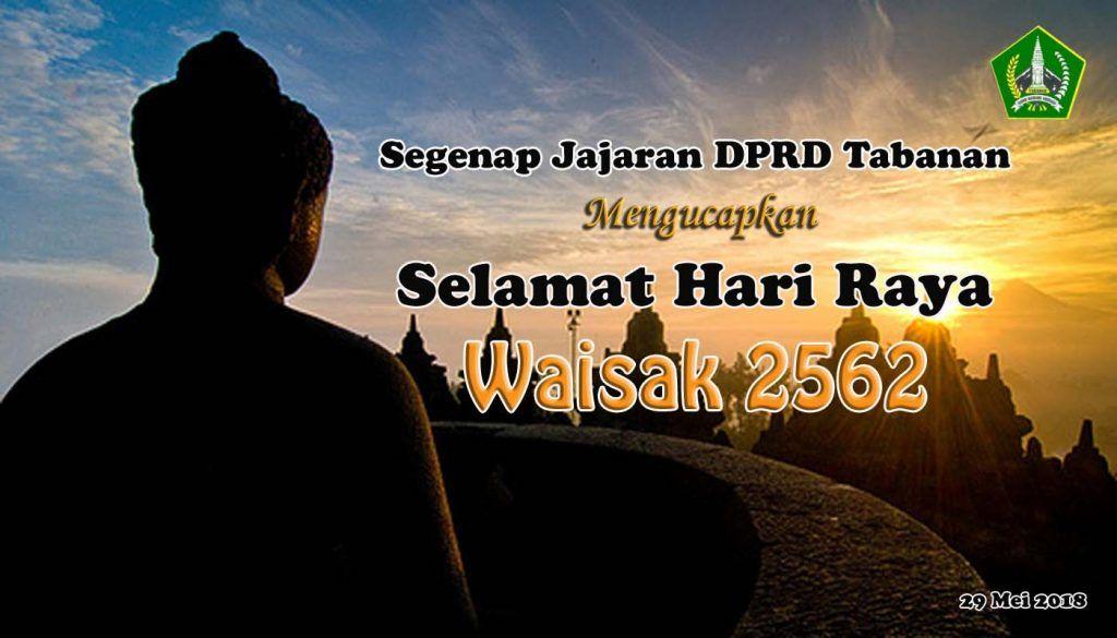 Poster Waisak Terhebat Selamat Hari Raya Waisak 2562 Dprd Tabanan