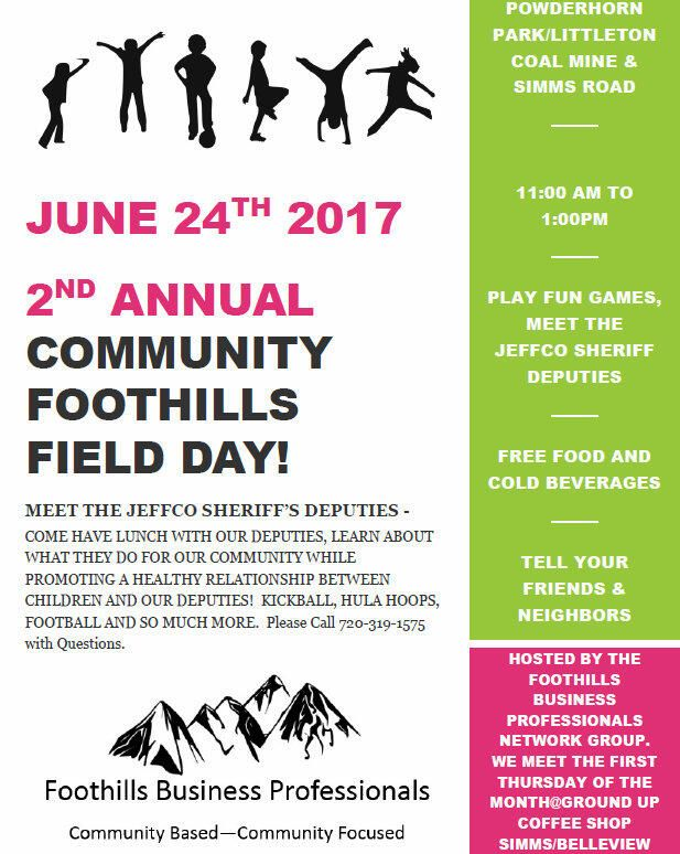 reminder about foothills field day this saturday jefferson county sheriff s office nextdoor