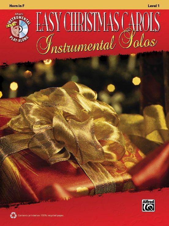 Recycle Poster Berguna Easy Christmas Carols Instrumental solos Horn In F Book Cd