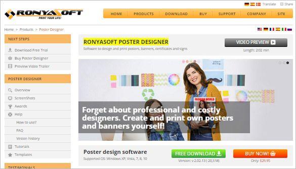 Ronyasoft Poster Designer Meletup 13 Wanted Poster Generators Makers tools Free Premium Templates