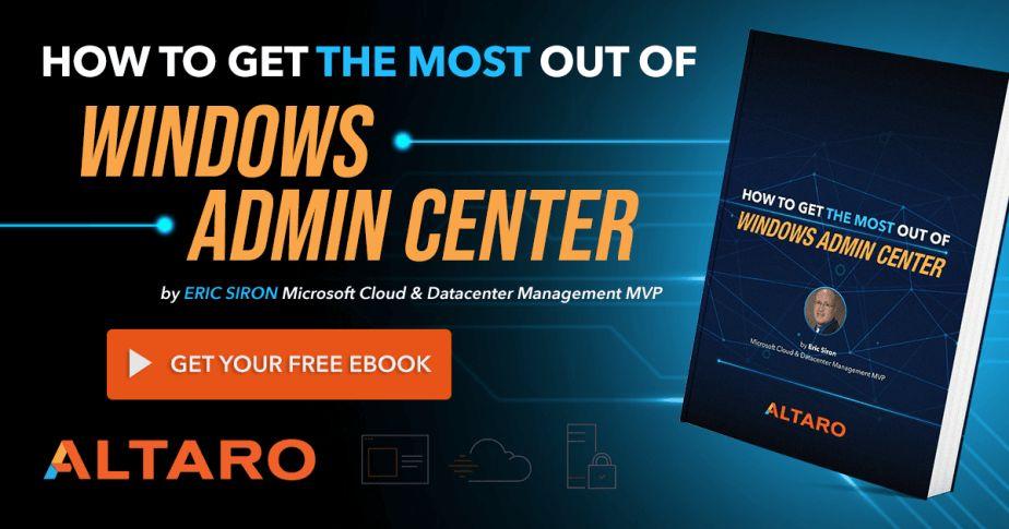 free download windows admin center ebook