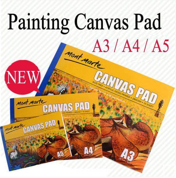 Saiz Kertas Lukisan A3 Bernilai Lukisan Lukisan Kertas Kanvas Pad Untuk Artist Siswa 280g Lukisan
