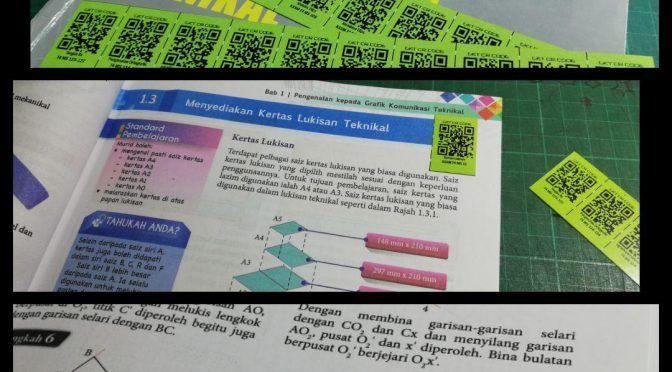 inovasi cr code sticker