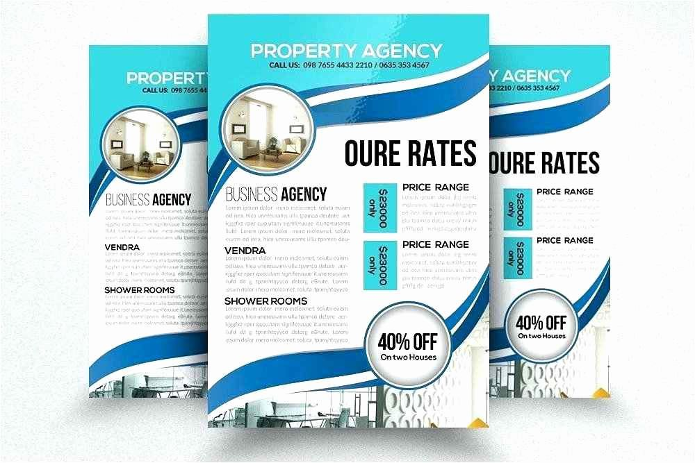 for sale flyer template new free collection 42 sales brochure template