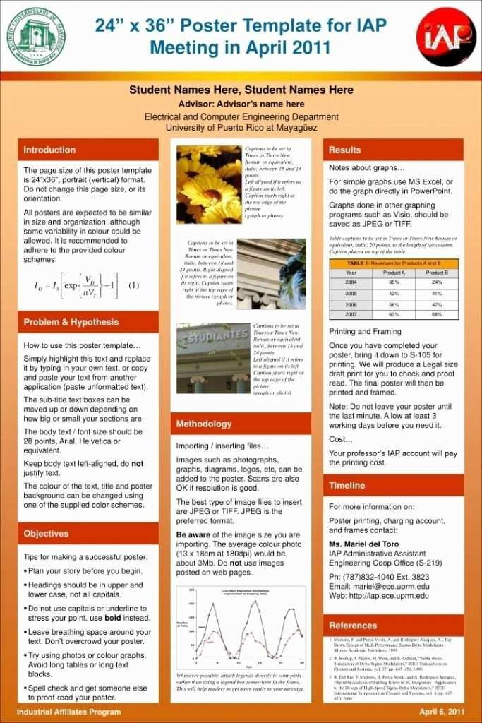 Scientific Poster Hebat Awesome Image Of Scientific Poster Template Powerpoint Free