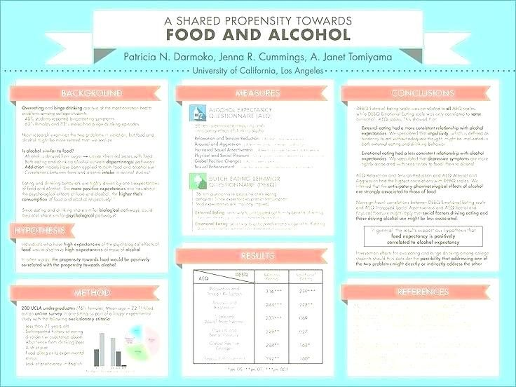 academic poster template elegant research for resume a1 presentation free download