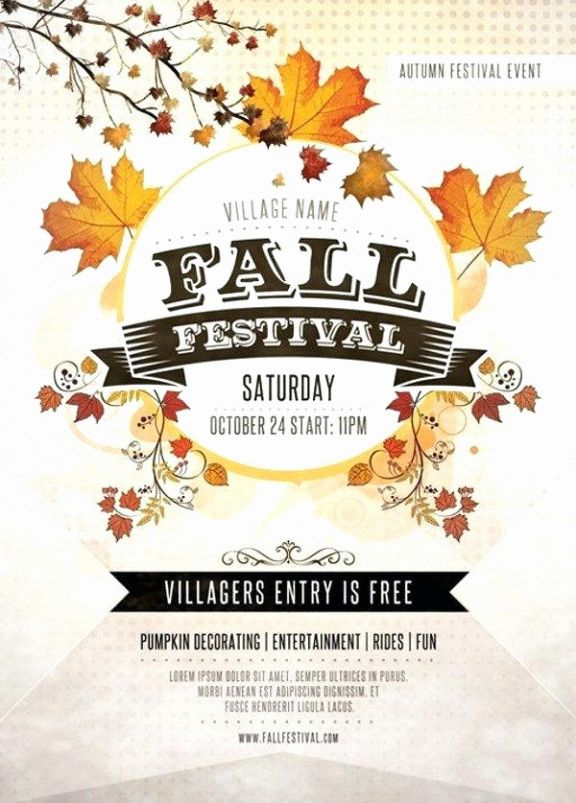 poster template word fall festival flyer templates poster templates 0d wallpapers 46