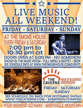 smokehouse restaurant live music at the smoke house and bluegrass underground make it a