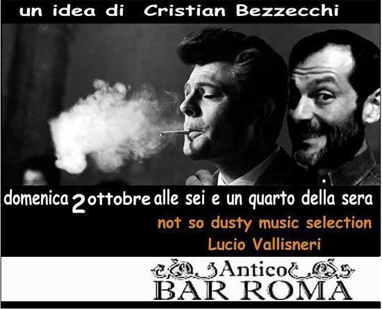 Smoking Poster Meletup Dj Set Picture Of Bar Roma Novellara Tripadvisor
