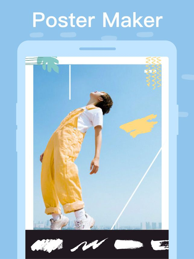 poster maker flyer creator on the app store