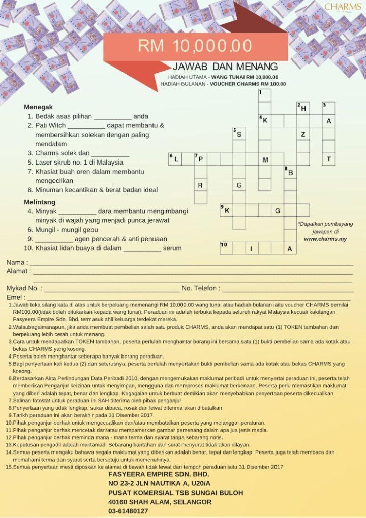 teka silang kata bahasa melayu sekolah rendah tahap 1 terbaik pelbagai teka silang kata dan jawapan