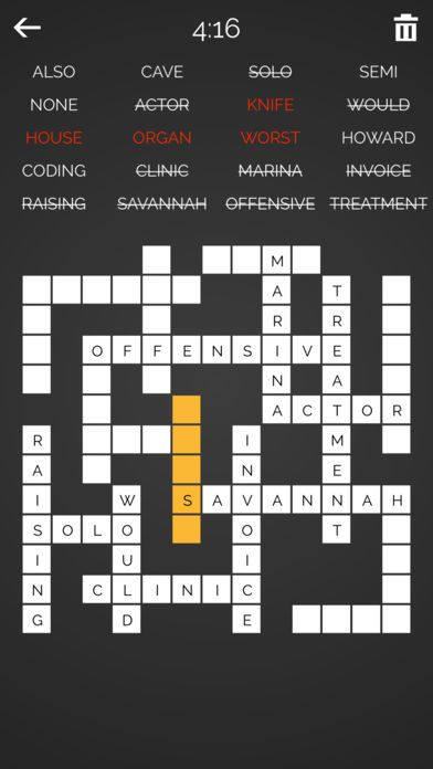 Teka Silang Kata Games Penting Word Fit Fill It In by Hakan Bagci Ios United States