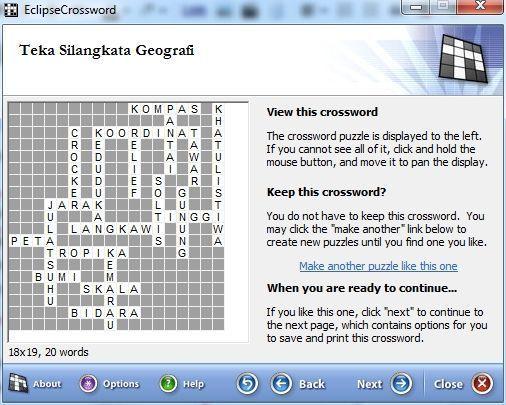 teka silang kata dan jawapan penting eclipsecrossword bina teka silang kata dengan mudah ciklaili of pelbagai