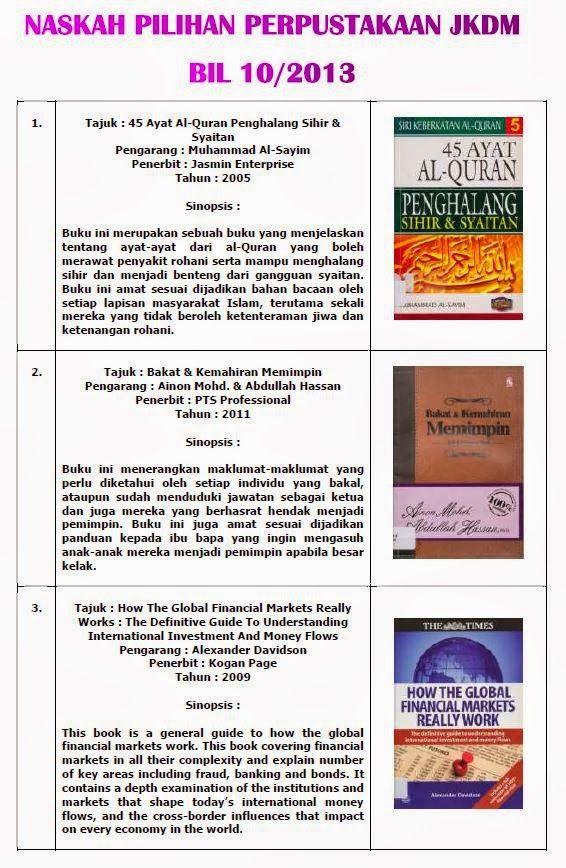naskah pilihan perpustakaan bil 10 2013