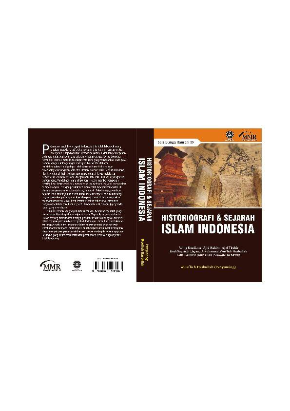 Teka Silang Kata Sejarah Tingkatan 4 Bernilai Pdf Historiografi Dan Sejarah islam Indonesia Mmruin Sgdbdg