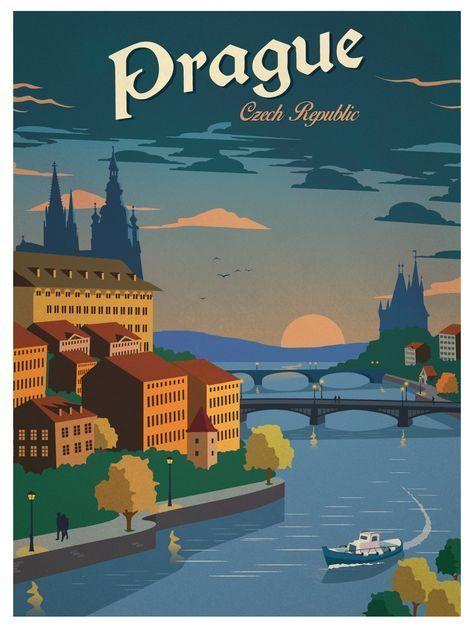 praga pin ups vintage prague czech czech republic art deco posters vintage