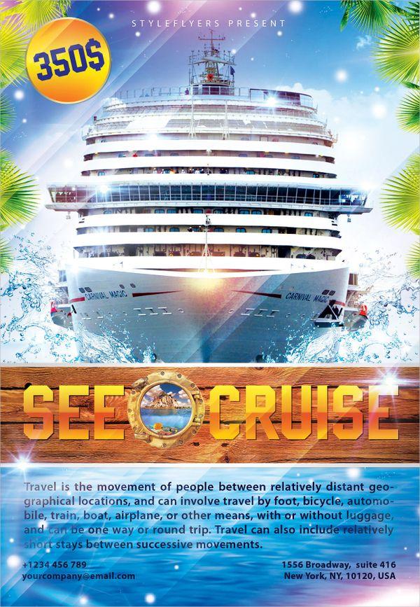 cruise flyer template boat cruise flyer tikiritschule pegasus