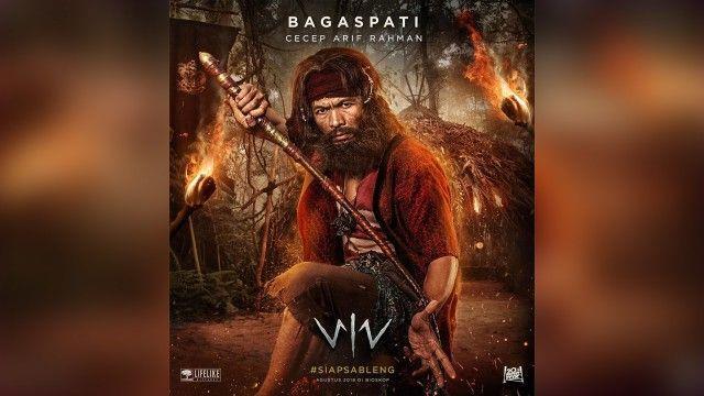 poster film wiro sableng cecep arif rahman sebagai bagaspati foto instagram wirosablengofficial