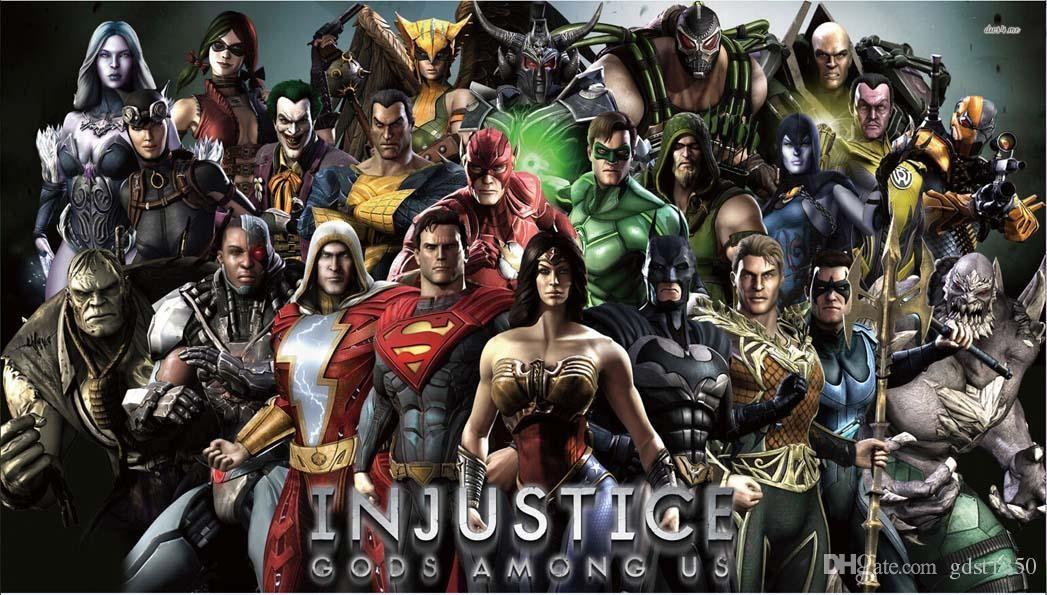 24x42 inch avengers superhero comics collage poster hd home wall decor custom painting print silk wallpaper