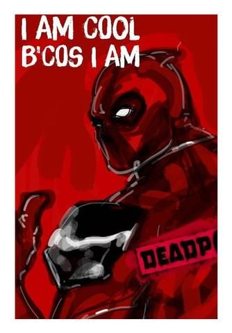 cool deadpool wall art artist draw on demand