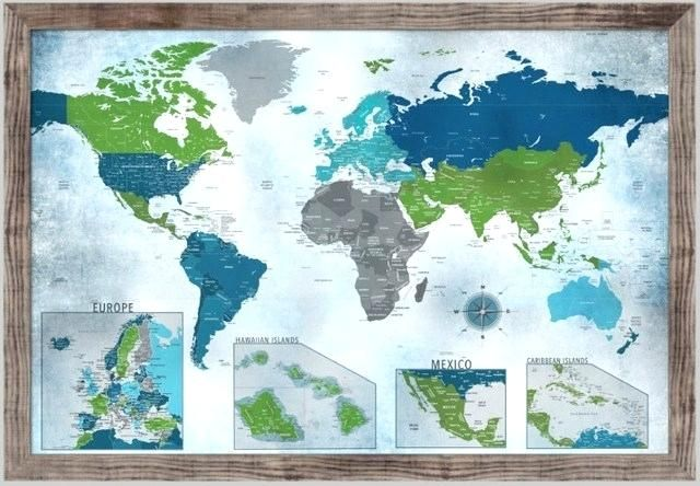 World Map Poster Bernilai World Maps to Color Crukhsf Info